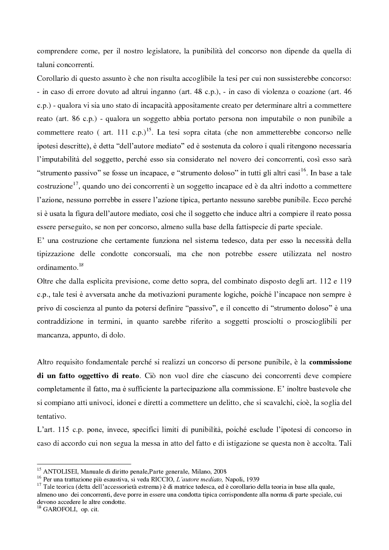 Anteprima della tesi: Il concorso esterno nell'associazione mafiosa: origini, ipotesi criminologiche e aspetti di attualità., Pagina 8