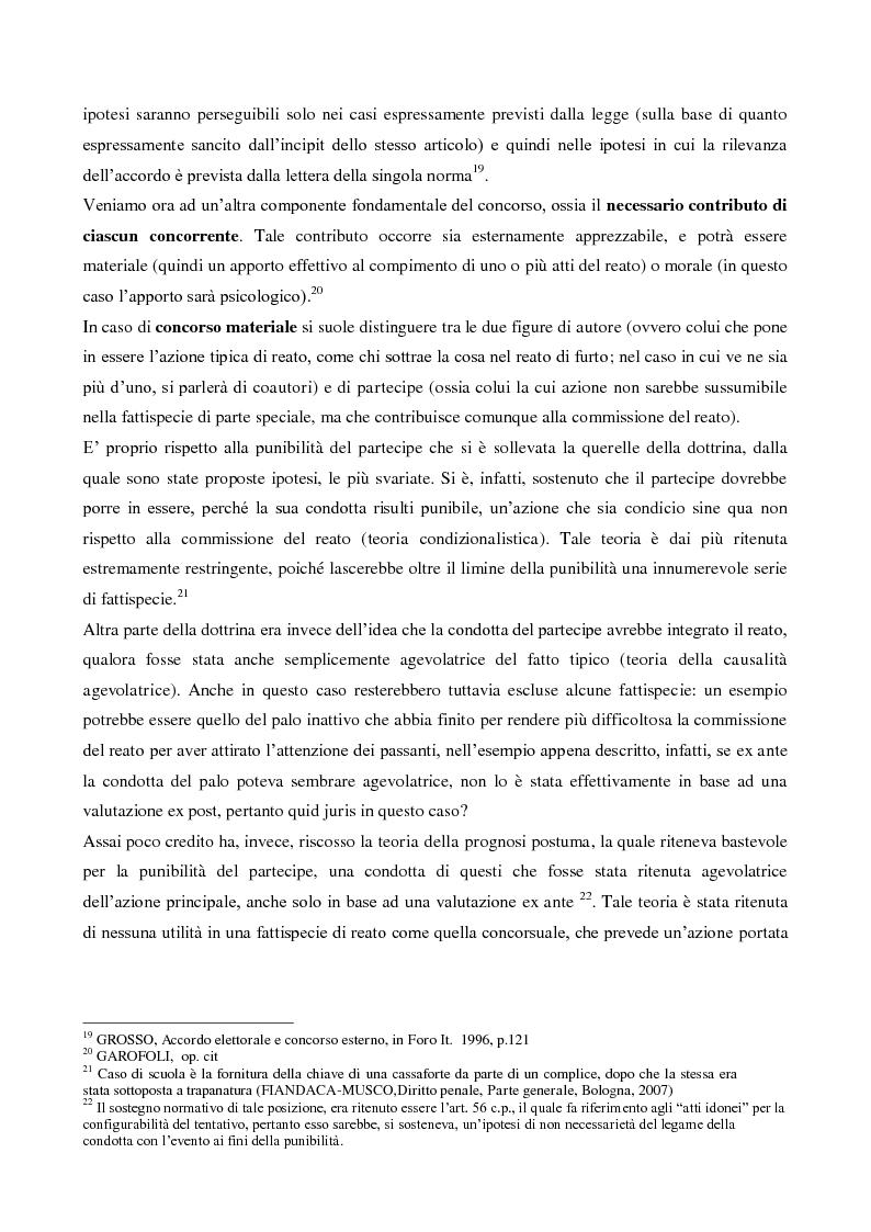 Anteprima della tesi: Il concorso esterno nell'associazione mafiosa: origini, ipotesi criminologiche e aspetti di attualità., Pagina 9