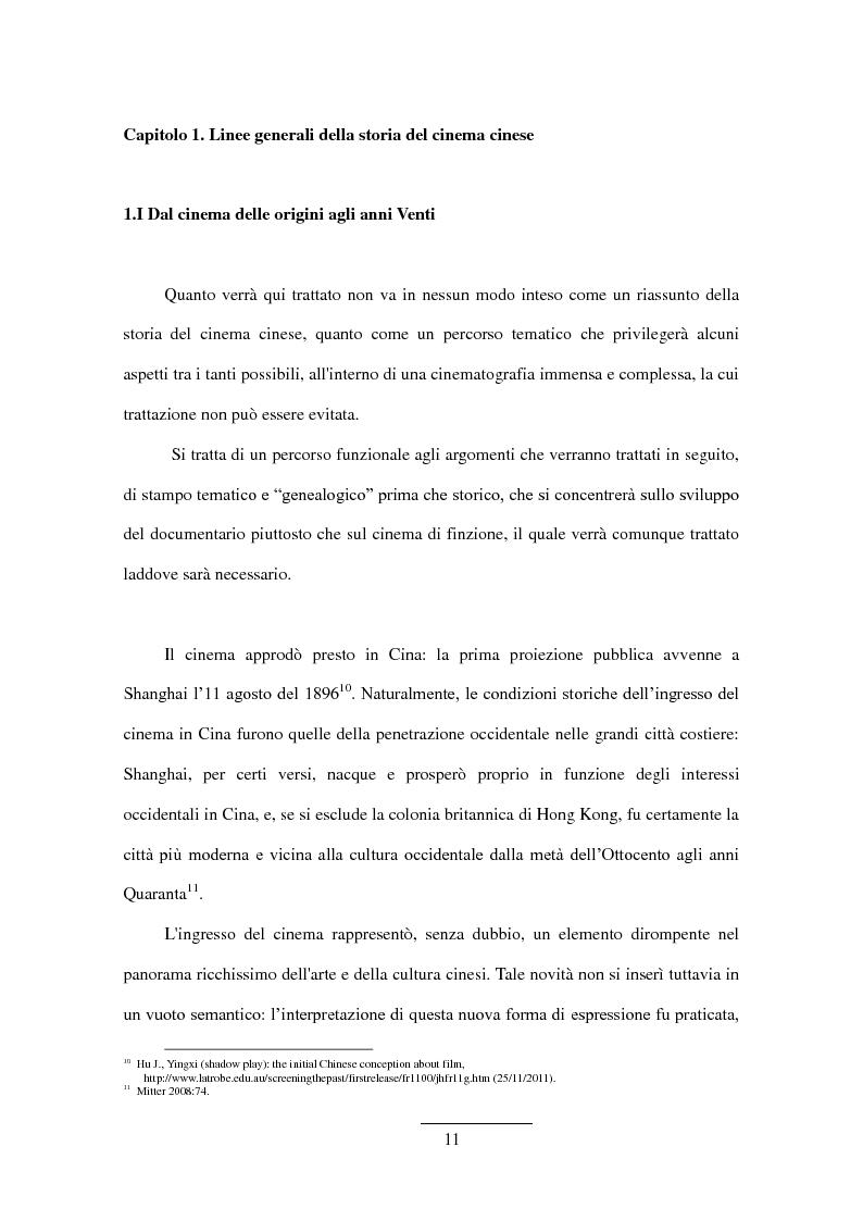 Anteprima della tesi: Documentario cinese indipendente contemporaneo, Pagina 9