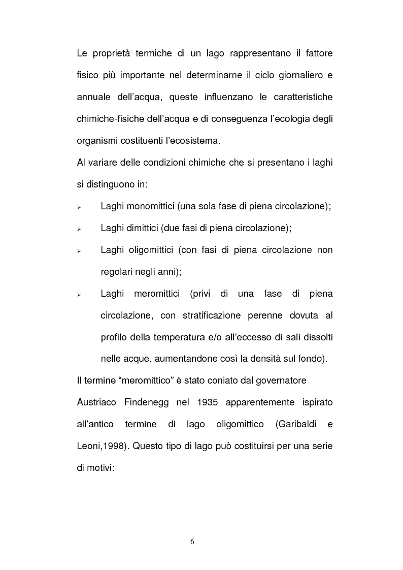 Anteprima della tesi: Batteri ed Archea Del Lago di Faro studiati mediante la Fluorescence in situ Hybriditation (FISH), Pagina 4