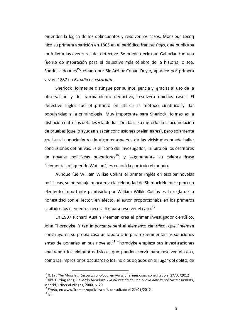Anteprima della tesi: ''La pazienza del ragno'' de Andrea Camilleri: de la novela a la película, con un estudio de la traducción al español, Pagina 10