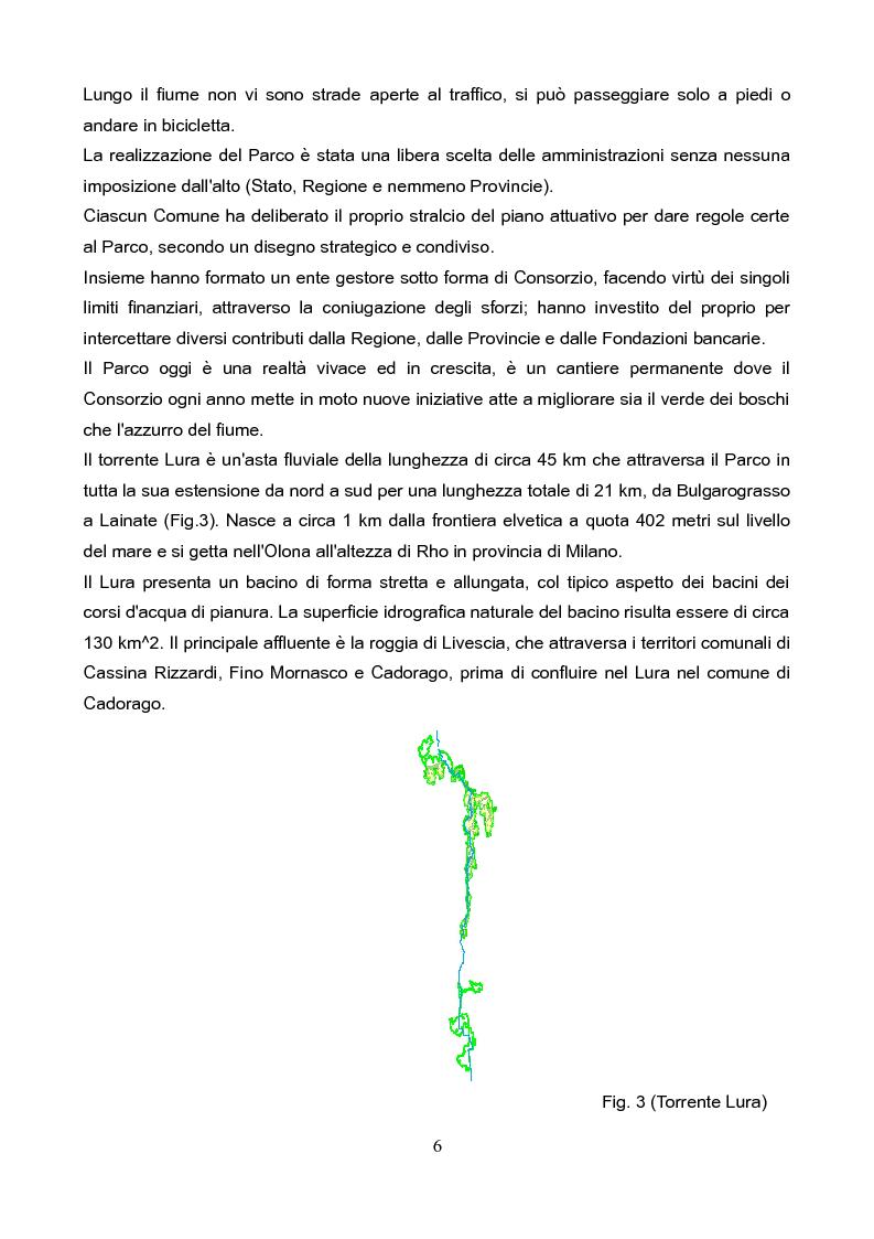 Anteprima della tesi: Il Parco del Lura: luci ed ombre, i suoi problemi, la conservazione e la riqualificazione., Pagina 5