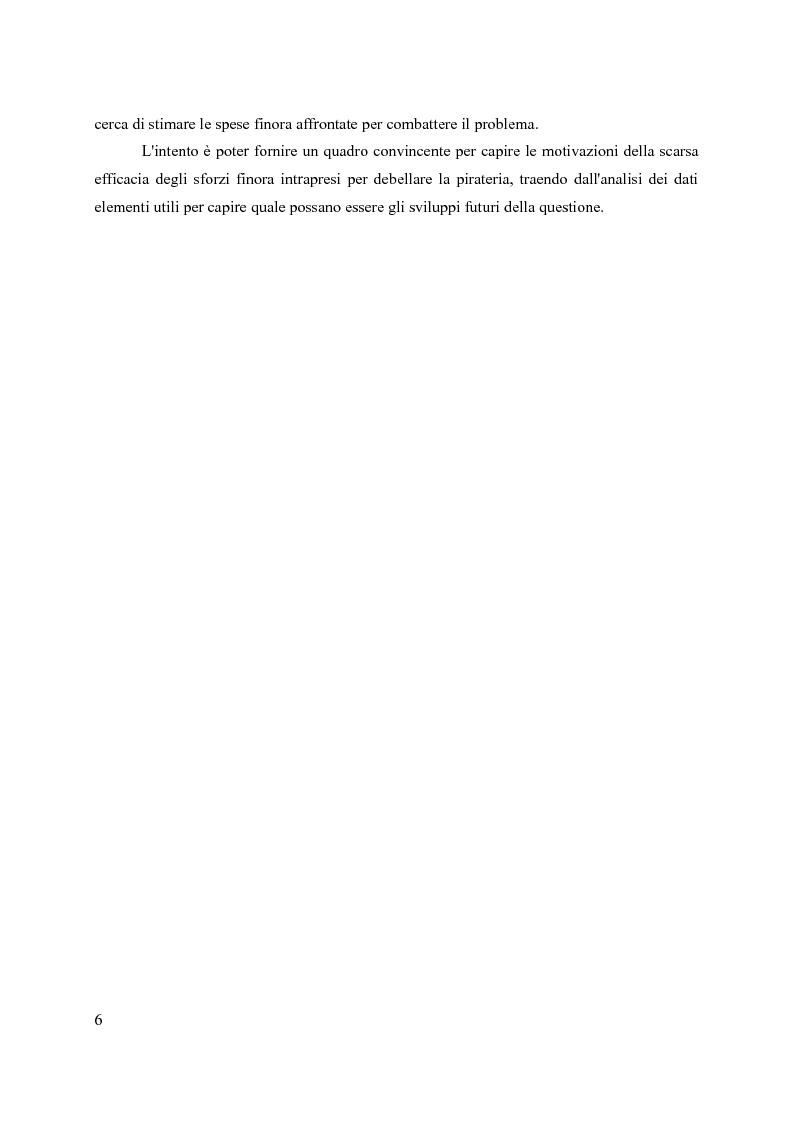 Anteprima della tesi: La pirateria nel XXI secolo: il caso somalo e la risposta occidentale, Pagina 3