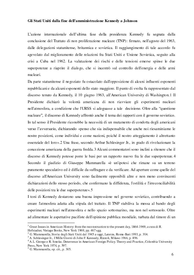 Anteprima della tesi: Italia e Stati Uniti e il riformismo nei primi anni sessanta, Pagina 5