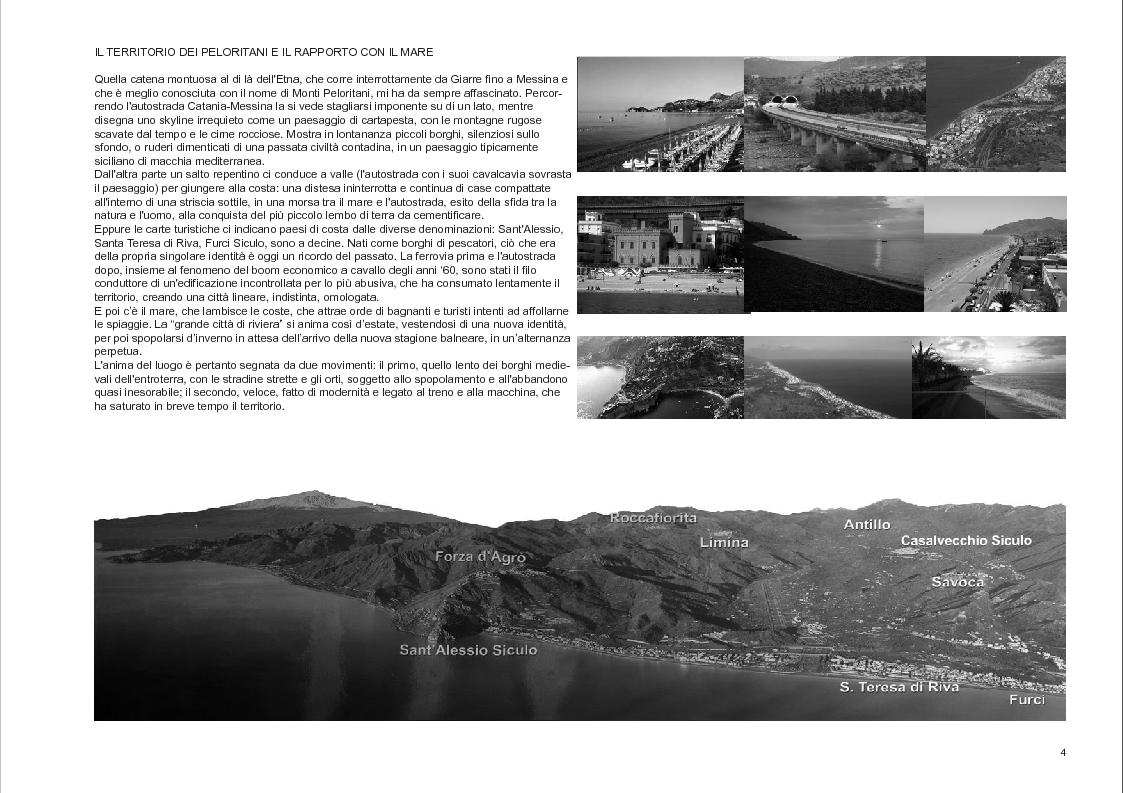 Anteprima della tesi: Progetto di recupero sostenibile del Castello e del Quartiere Pentefur nel borgo medievale di Savoca (territorio della Valle d'Agrò, ME), Pagina 4