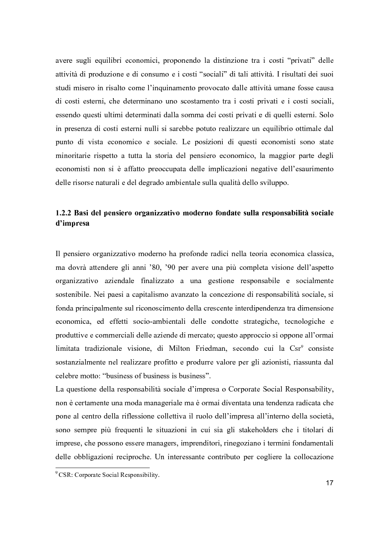 Anteprima della tesi: Lo sviluppo sostenibile nell'esperienza aziendale di Sanpellegrino, Pagina 12