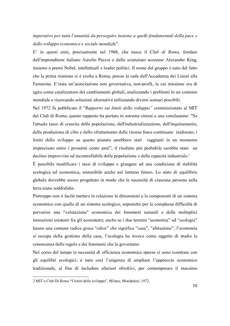 Anteprima della tesi: Lo sviluppo sostenibile nell'esperienza aziendale di Sanpellegrino, Pagina 5