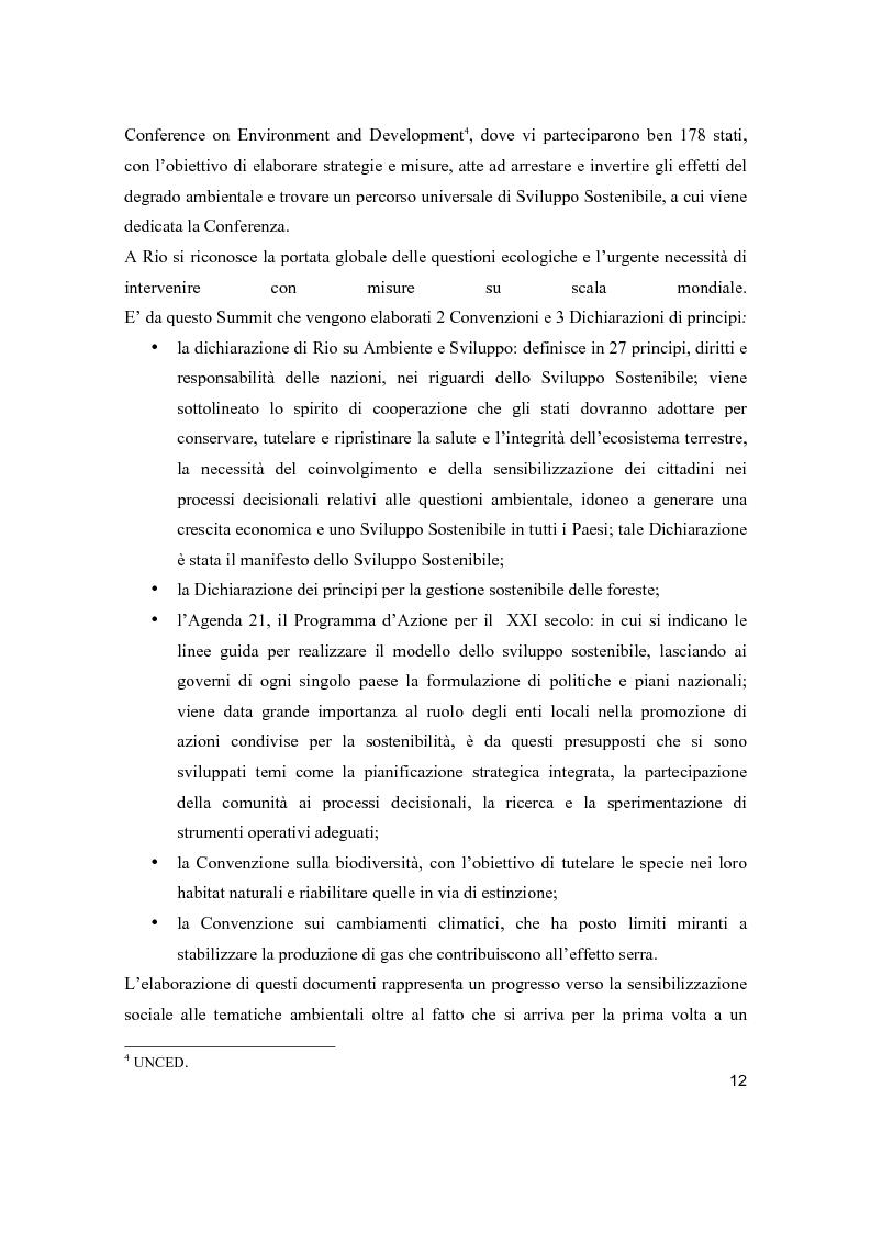 Anteprima della tesi: Lo sviluppo sostenibile nell'esperienza aziendale di Sanpellegrino, Pagina 7