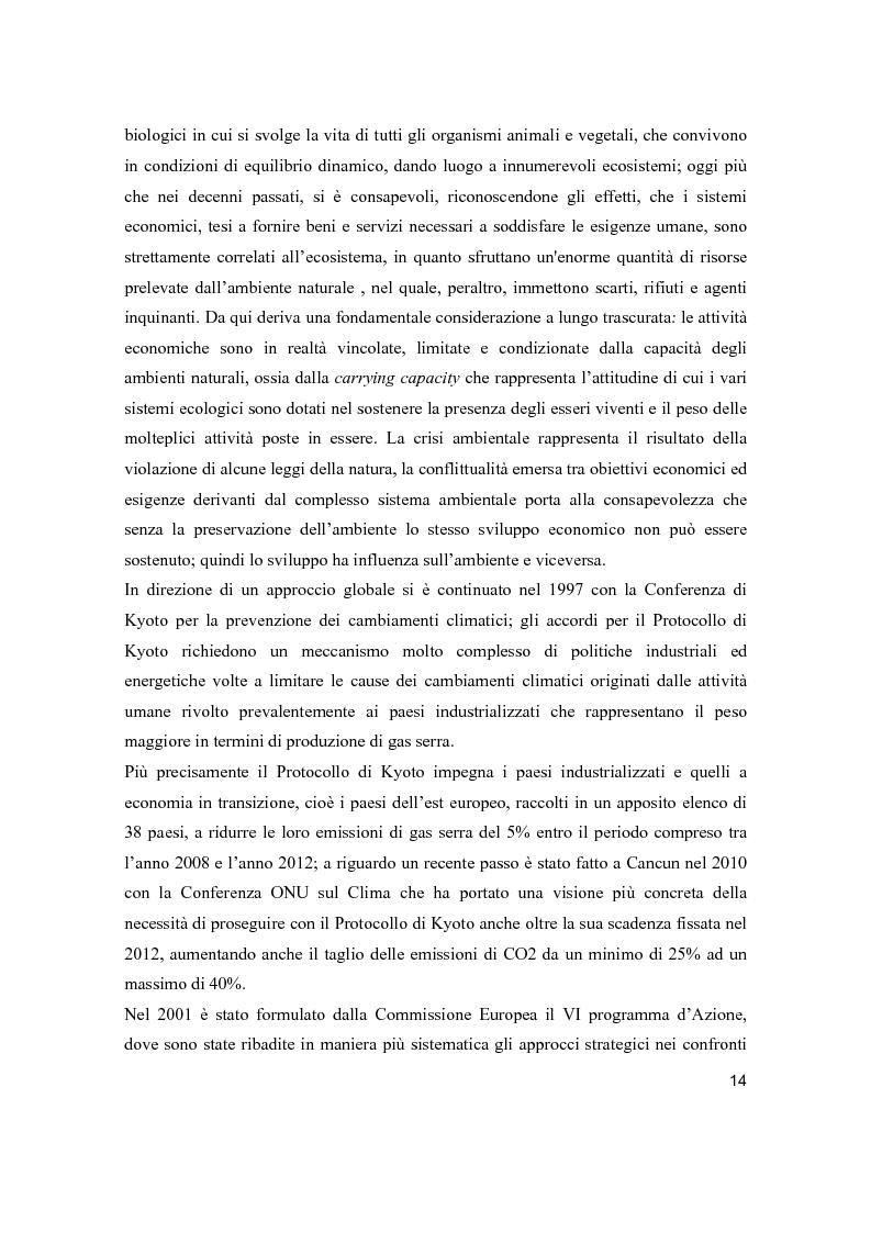 Anteprima della tesi: Lo sviluppo sostenibile nell'esperienza aziendale di Sanpellegrino, Pagina 9