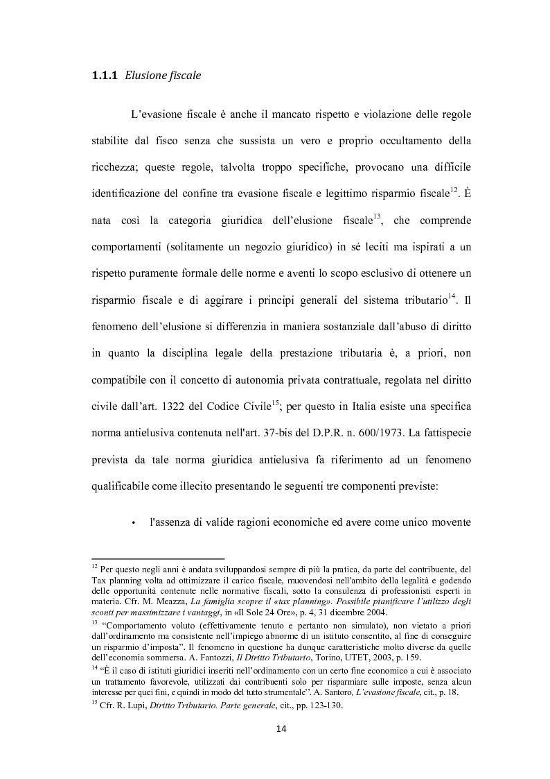 Anteprima della tesi: Sistemi tributari ed evasione fiscale in Italia: note storiche, Pagina 11