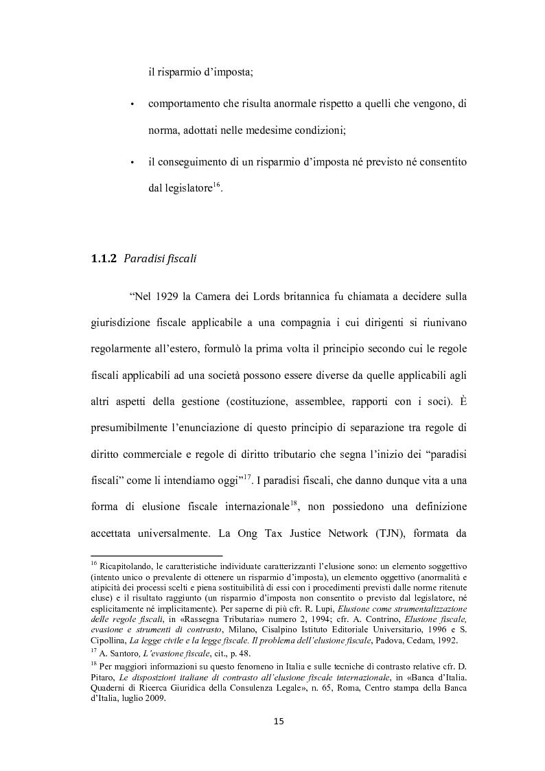 Anteprima della tesi: Sistemi tributari ed evasione fiscale in Italia: note storiche, Pagina 12