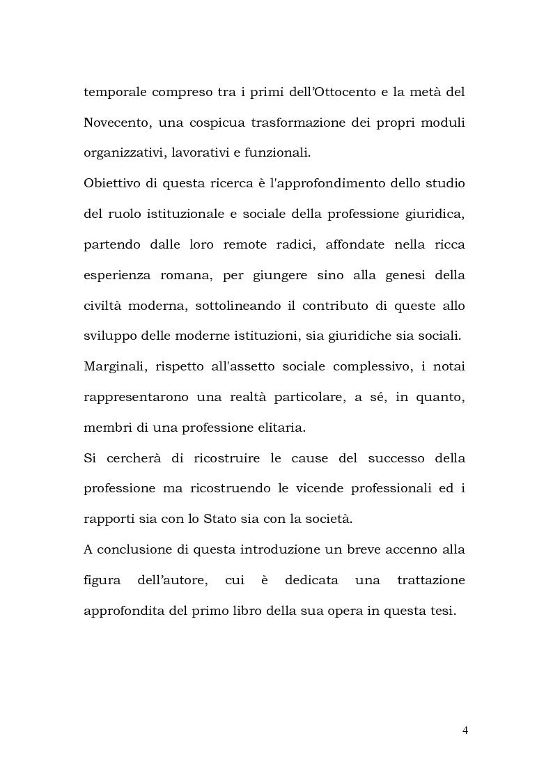 Anteprima della tesi: La Professione Notarile nell'opera di Antonio Pacini (1774), Pagina 3