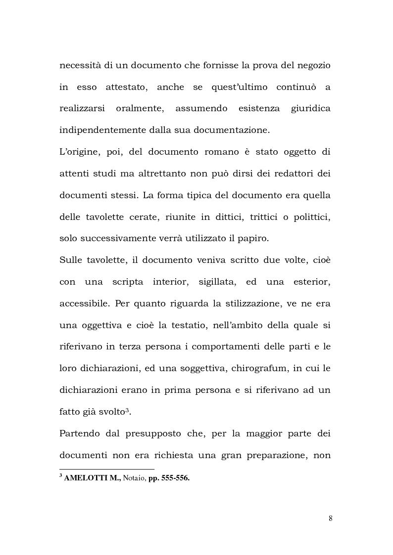 Anteprima della tesi: La Professione Notarile nell'opera di Antonio Pacini (1774), Pagina 7