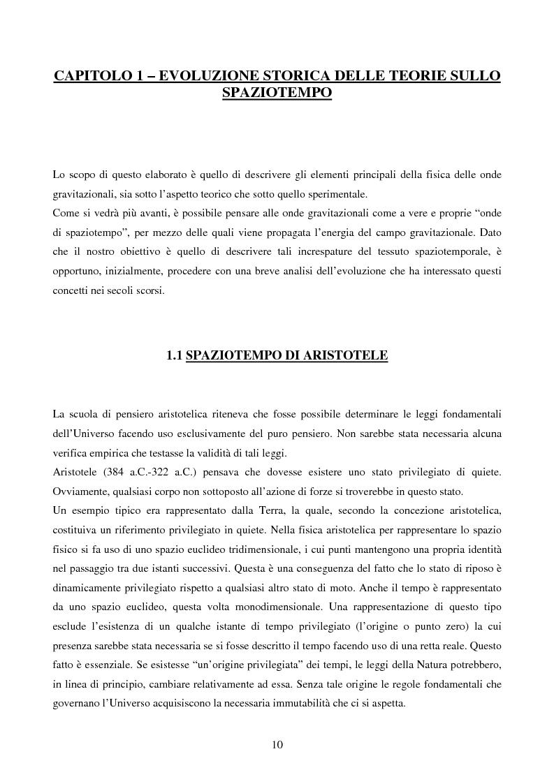 Anteprima della tesi: Studio delle Onde Gravitazionali: da Einstein a Virgo, Pagina 3