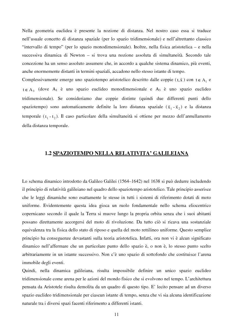Anteprima della tesi: Studio delle Onde Gravitazionali: da Einstein a Virgo, Pagina 4