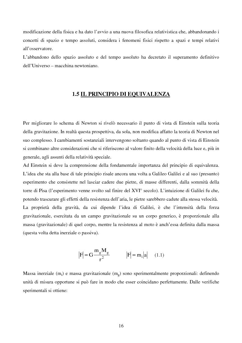 Anteprima della tesi: Studio delle Onde Gravitazionali: da Einstein a Virgo, Pagina 9