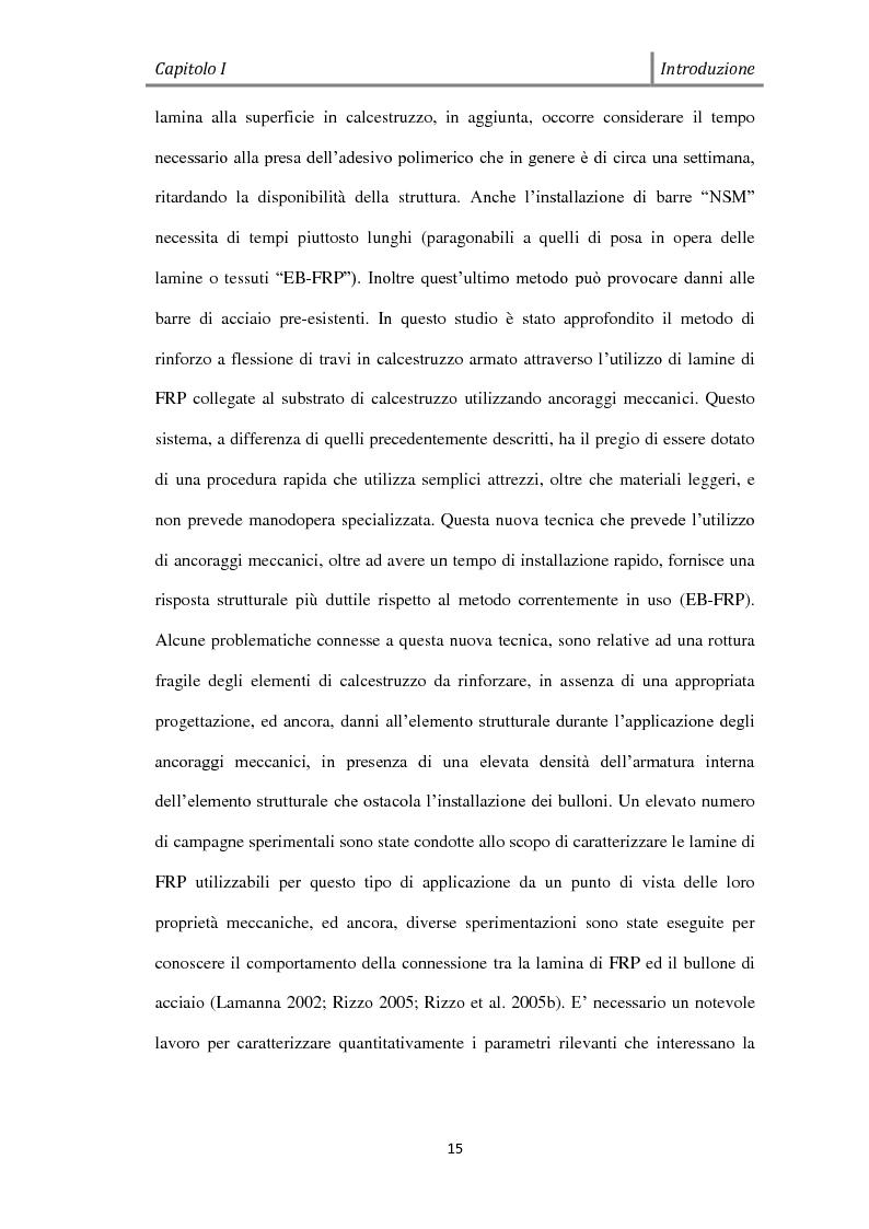 Anteprima della tesi: Effetto del Bond-slip sulla capacità ultima di travi rinforzate con MF-FRP, Pagina 3