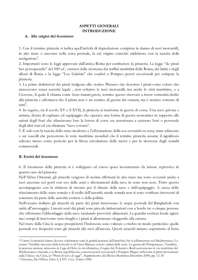 Anteprima della tesi: Pirateria e diritti umani, Pagina 2