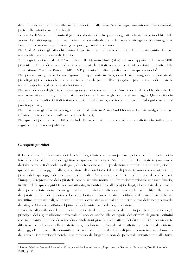 Anteprima della tesi: Pirateria e diritti umani, Pagina 3