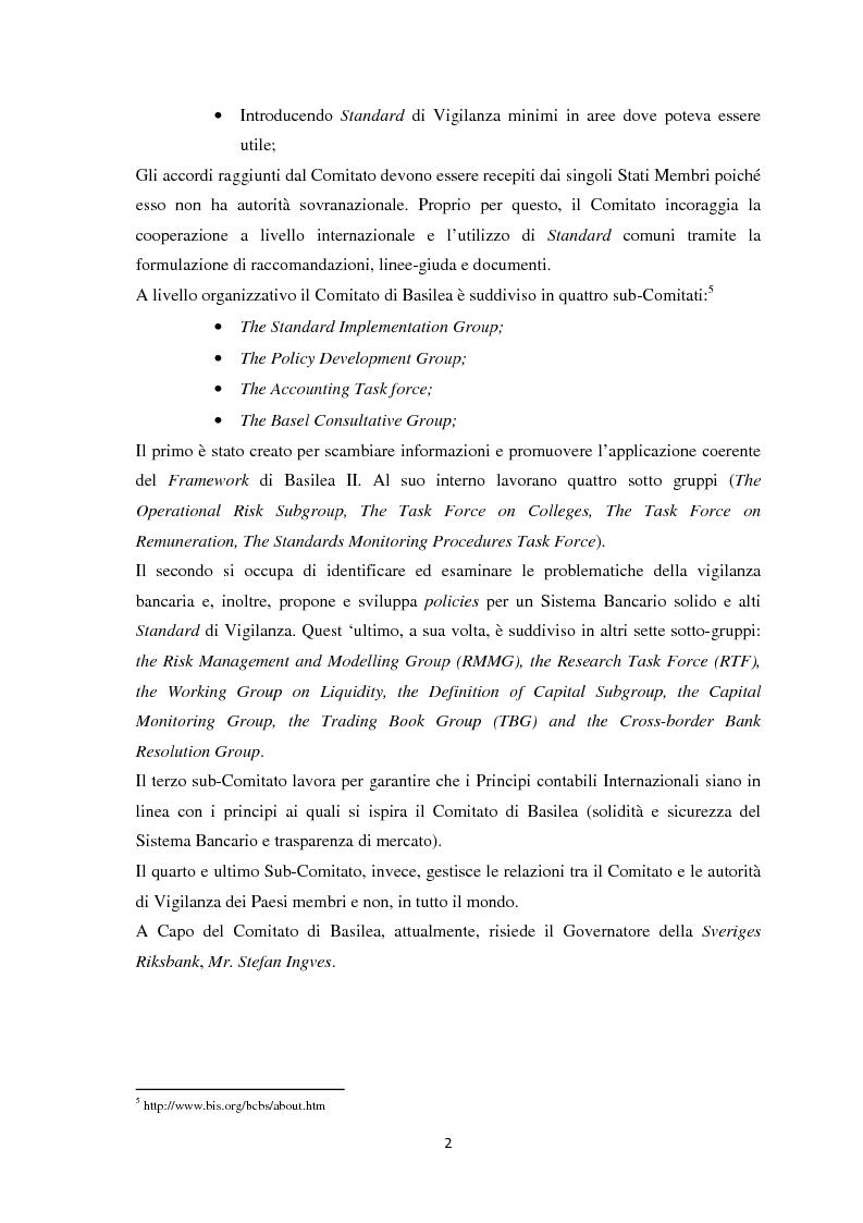 Anteprima della tesi: La Regolamentazione di Basilea III e gli effetti sulle Piccole e Medie imprese, Pagina 6