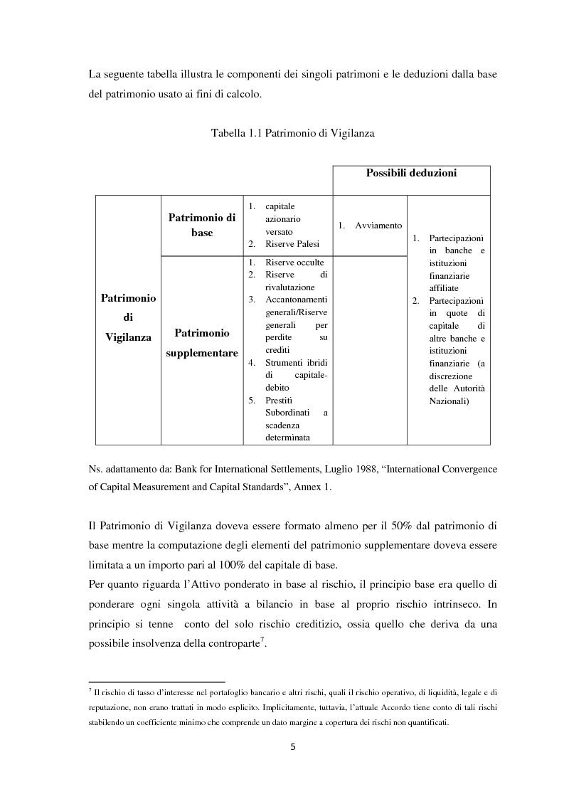 Anteprima della tesi: La Regolamentazione di Basilea III e gli effetti sulle Piccole e Medie imprese, Pagina 9