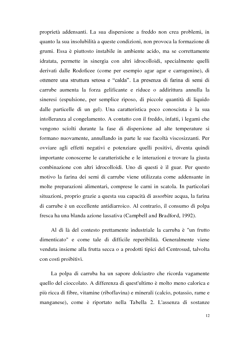 Anteprima della tesi: Isolamento di una nuova malico deidrogenasi da semi di Ceratonia siliqua L. con possibili impieghi in campo biotecnologico, Pagina 5