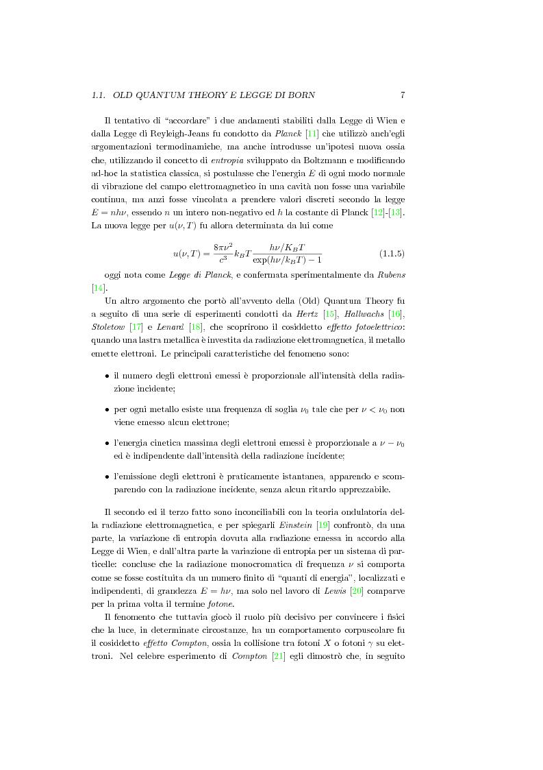 Anteprima della tesi: Una Teoria a Variabili Nascoste in Sostituzione della Meccanica Quantistica, Pagina 4