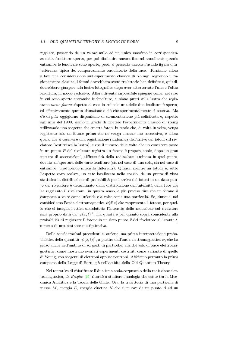 Anteprima della tesi: Una Teoria a Variabili Nascoste in Sostituzione della Meccanica Quantistica, Pagina 6