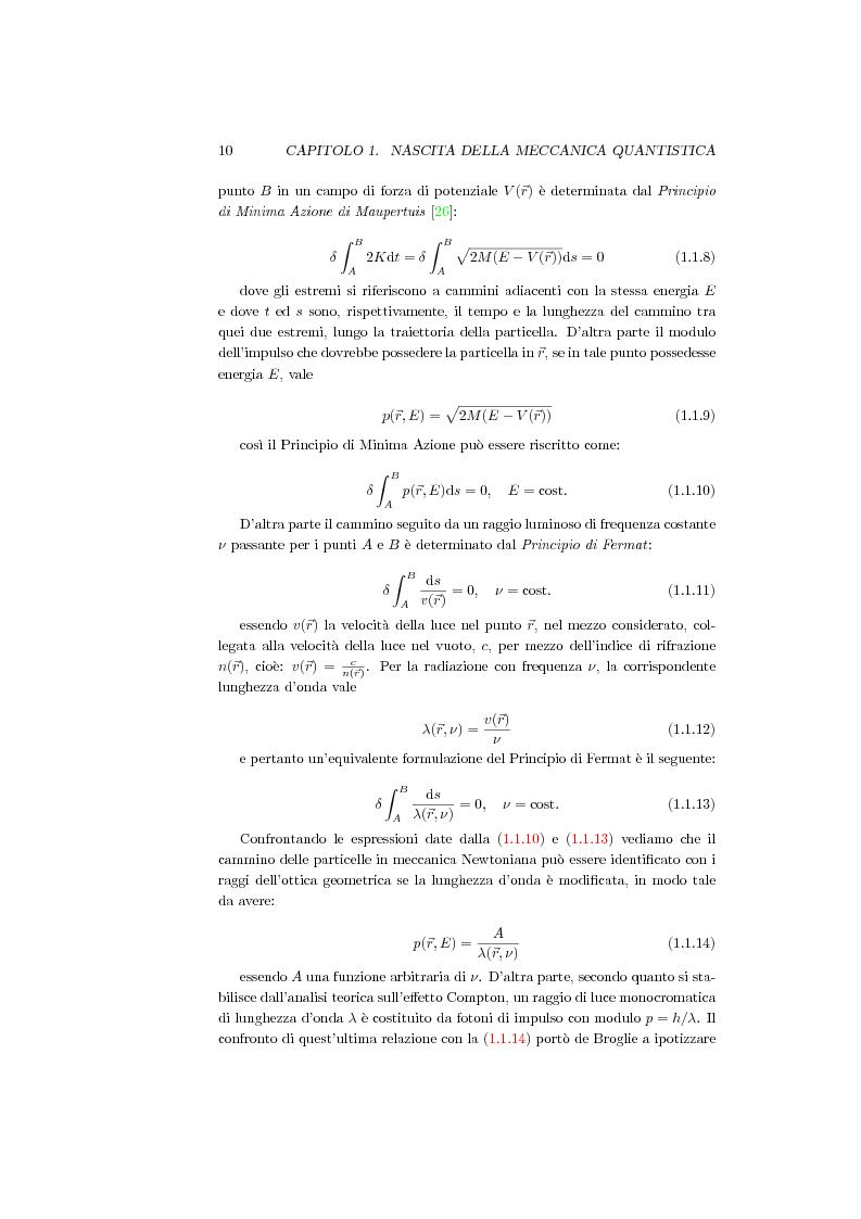 Anteprima della tesi: Una Teoria a Variabili Nascoste in Sostituzione della Meccanica Quantistica, Pagina 7