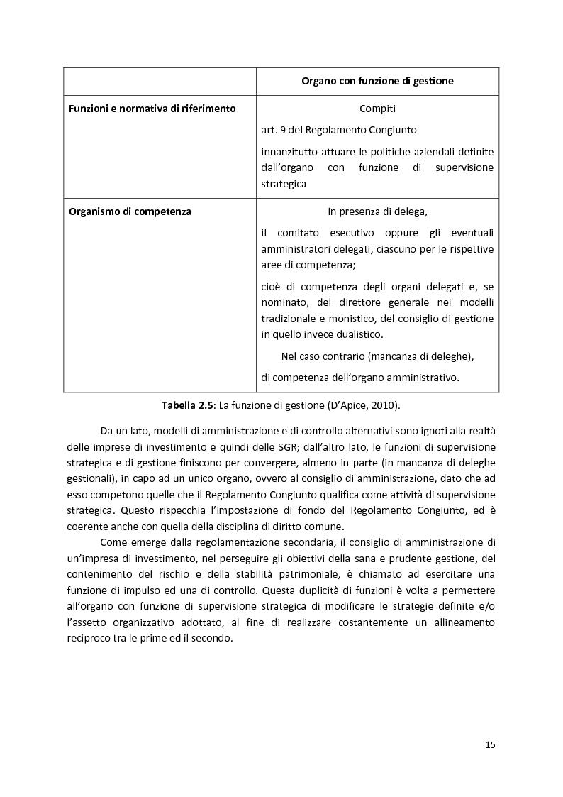 Anteprima della tesi: La Compliance nella SGR, Pagina 10
