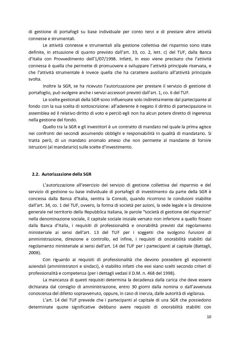 Anteprima della tesi: La Compliance nella SGR, Pagina 5