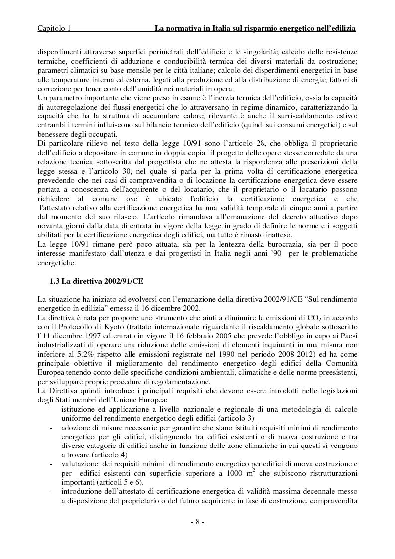 Anteprima della tesi: Efficienza Energetica degli edifici storici - Riqualificazione Della sede municipale di Castelmassa, Pagina 3