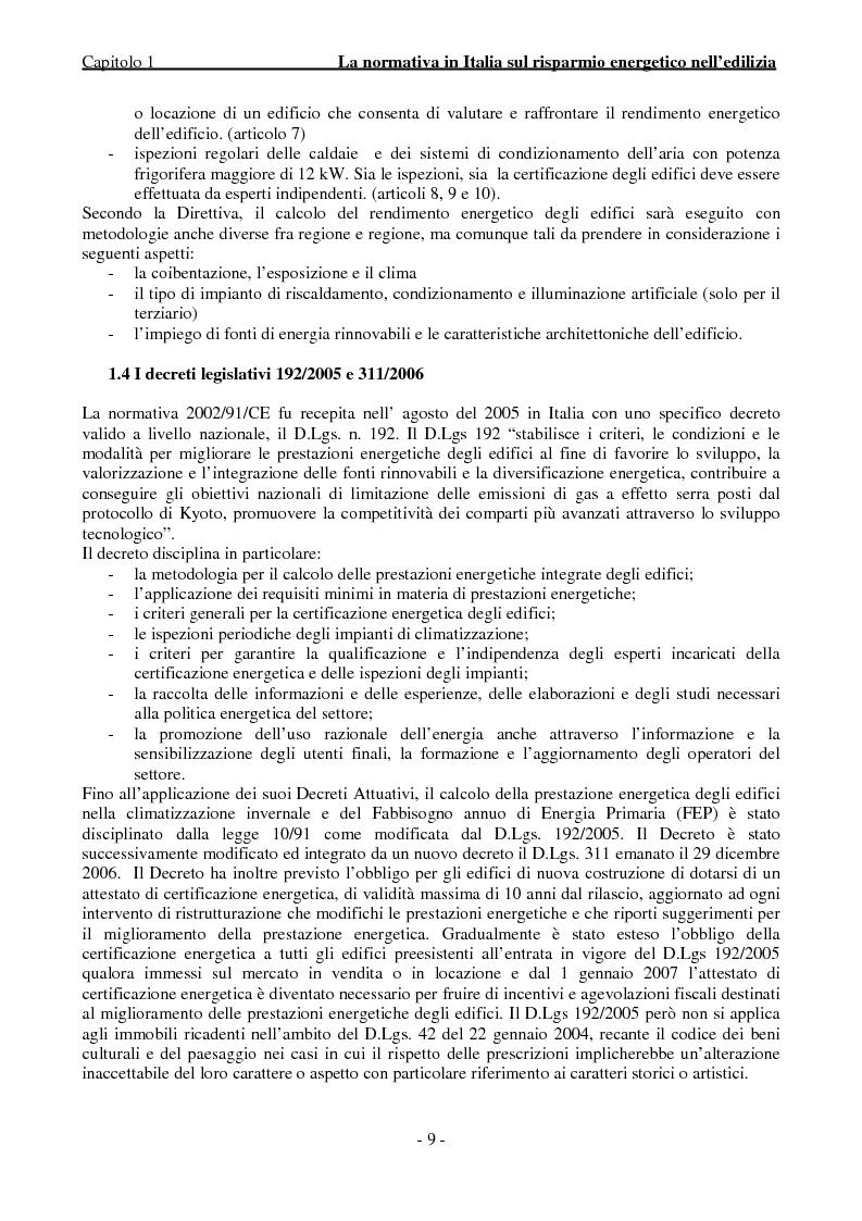 Anteprima della tesi: Efficienza Energetica degli edifici storici - Riqualificazione Della sede municipale di Castelmassa, Pagina 4