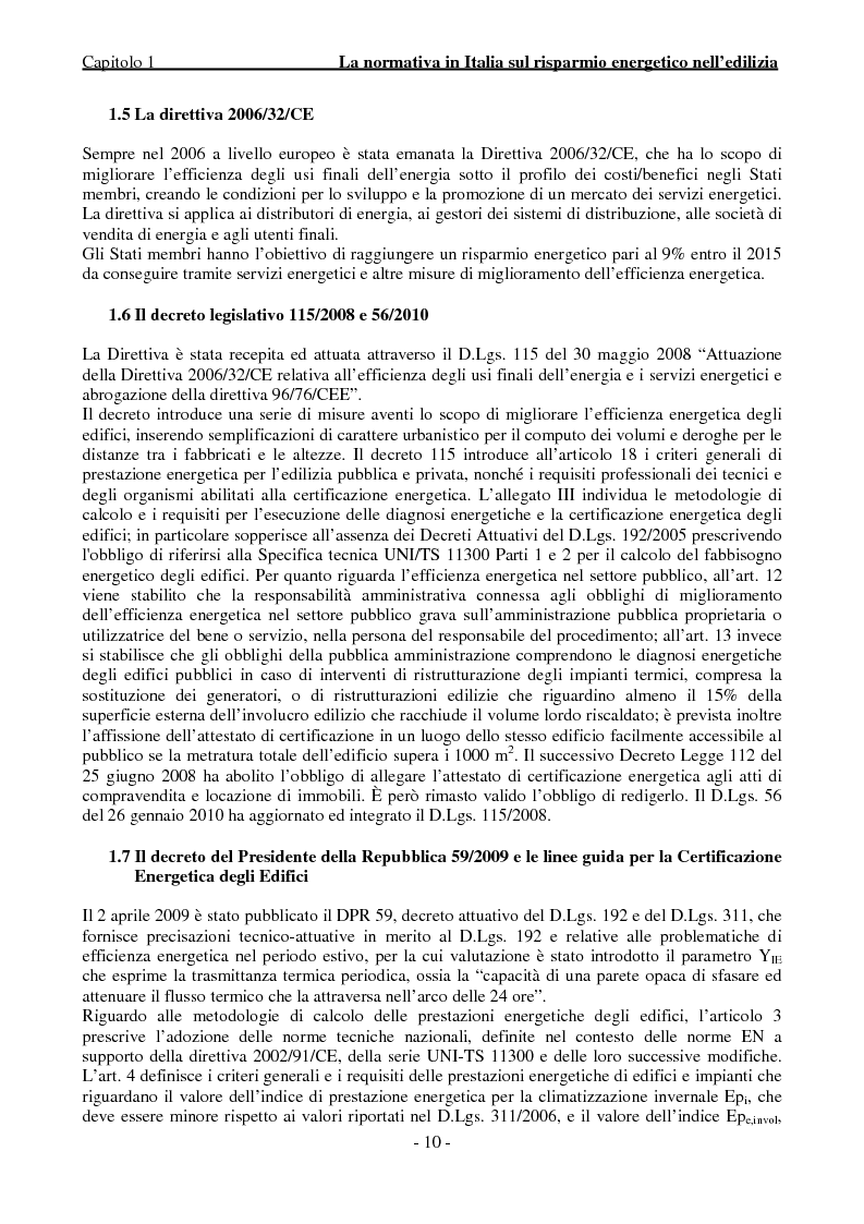 Anteprima della tesi: Efficienza Energetica degli edifici storici - Riqualificazione Della sede municipale di Castelmassa, Pagina 5
