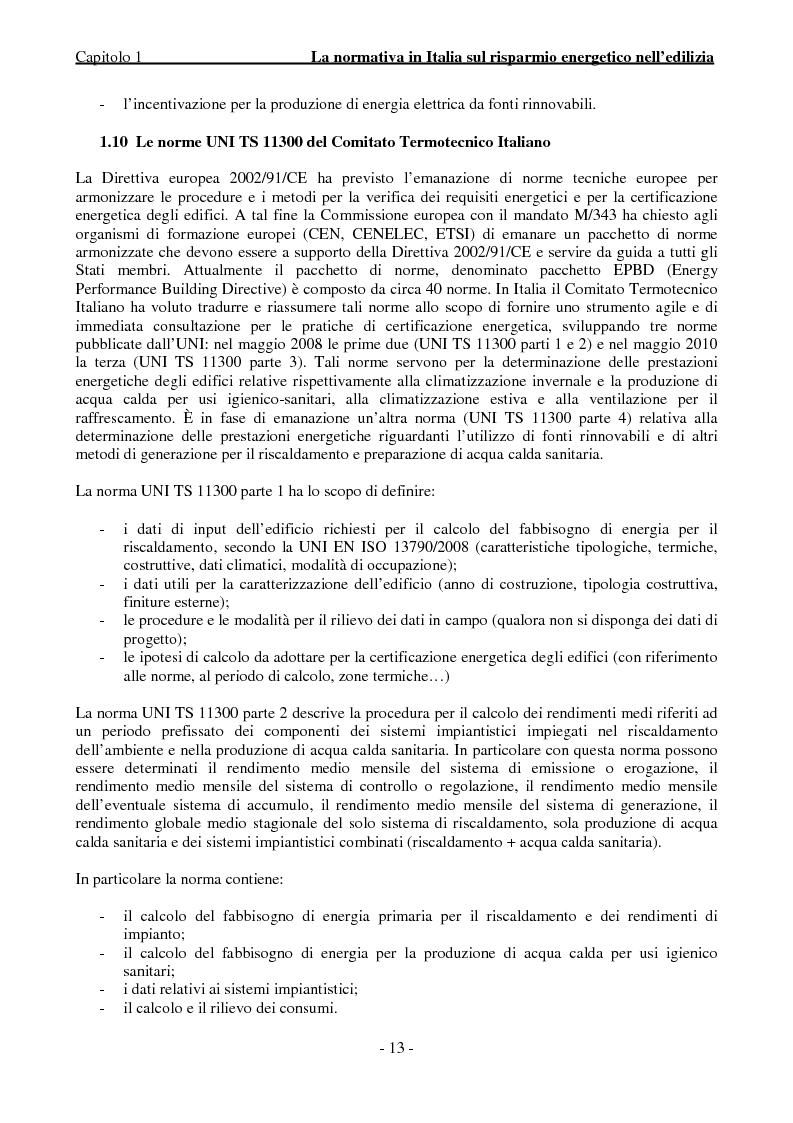 Anteprima della tesi: Efficienza Energetica degli edifici storici - Riqualificazione Della sede municipale di Castelmassa, Pagina 8