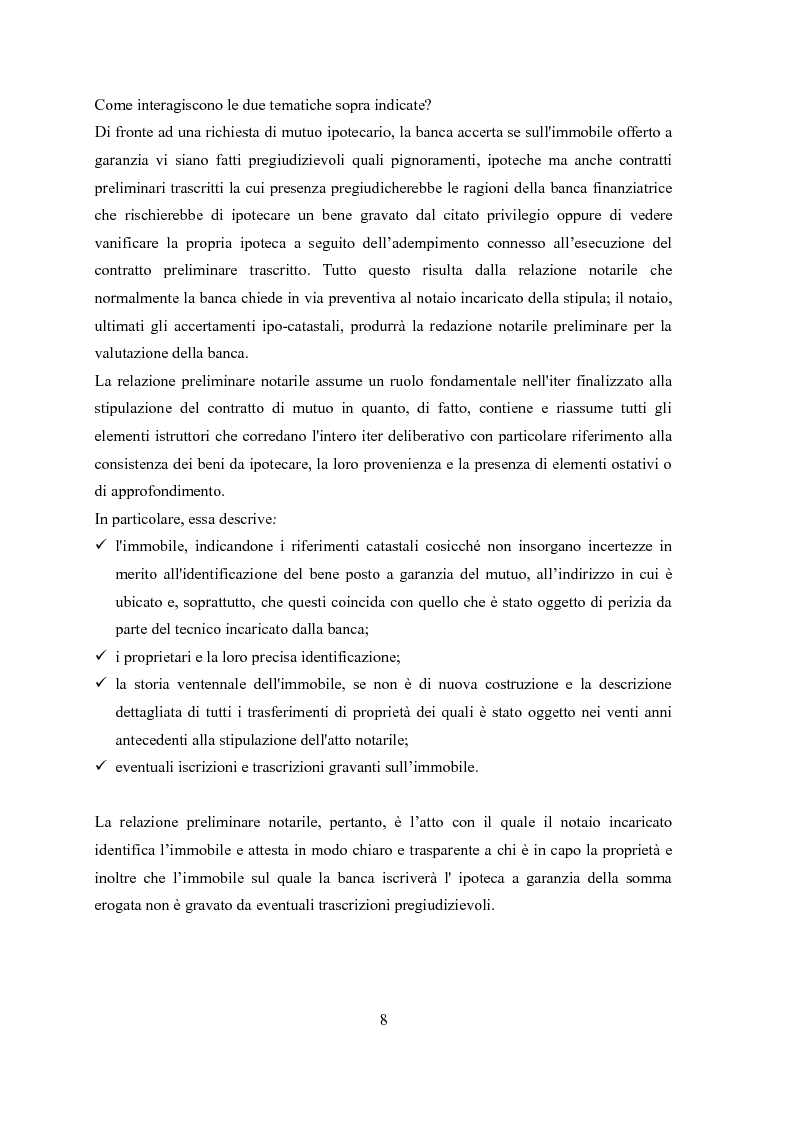 Anteprima della tesi: Il contratto di mutuo - tipologie negoziali, Pagina 6