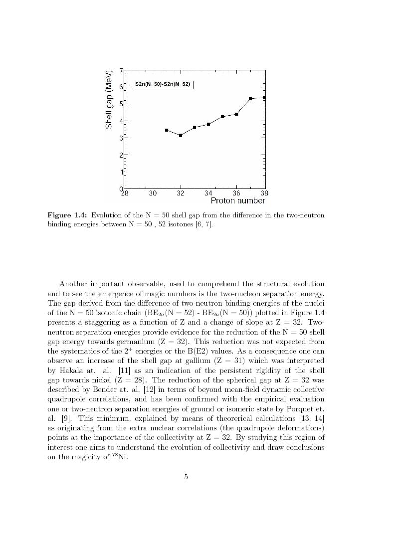 Anteprima della tesi: Beta decay studies close to the doubly-magic nucleus 78Ni, Pagina 6