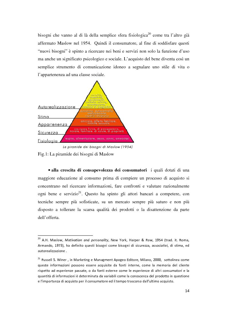 Anteprima della tesi: Le Nuove Strategie di Marketing e Comunicazione nel settore Bancario, Pagina 10