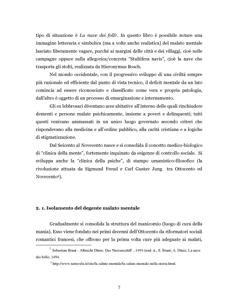 Anteprima della tesi: Un'intramontabile utopia - La valenza educativa dell'antipsichiatria di Franco Basaglia, Pagina 4