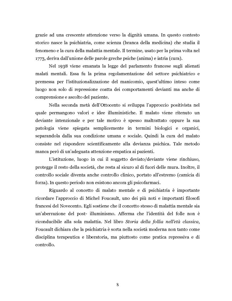 Anteprima della tesi: Un'intramontabile utopia - La valenza educativa dell'antipsichiatria di Franco Basaglia, Pagina 5