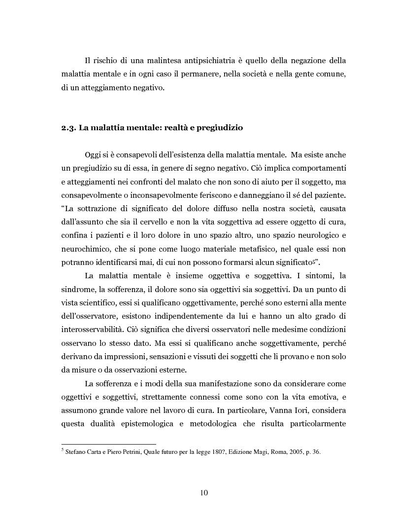 Anteprima della tesi: Un'intramontabile utopia - La valenza educativa dell'antipsichiatria di Franco Basaglia, Pagina 7