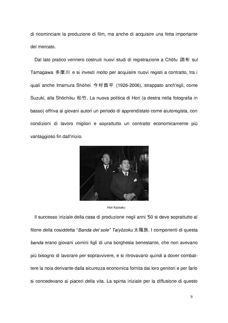 Anteprima della tesi: Il cinema di Suzuki Seijun, Pagina 5