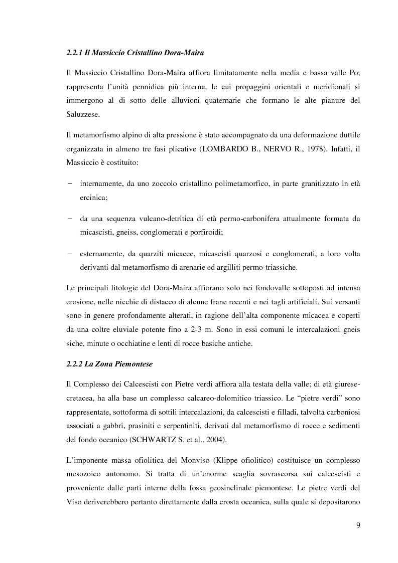 Anteprima della tesi: Caratterizzazione climatica e analisi del fenomeno valanghivo in Alta Valle Po attraverso la realizzazione della Carta di Localizzazione Probabile delle Valanghe, Pagina 10