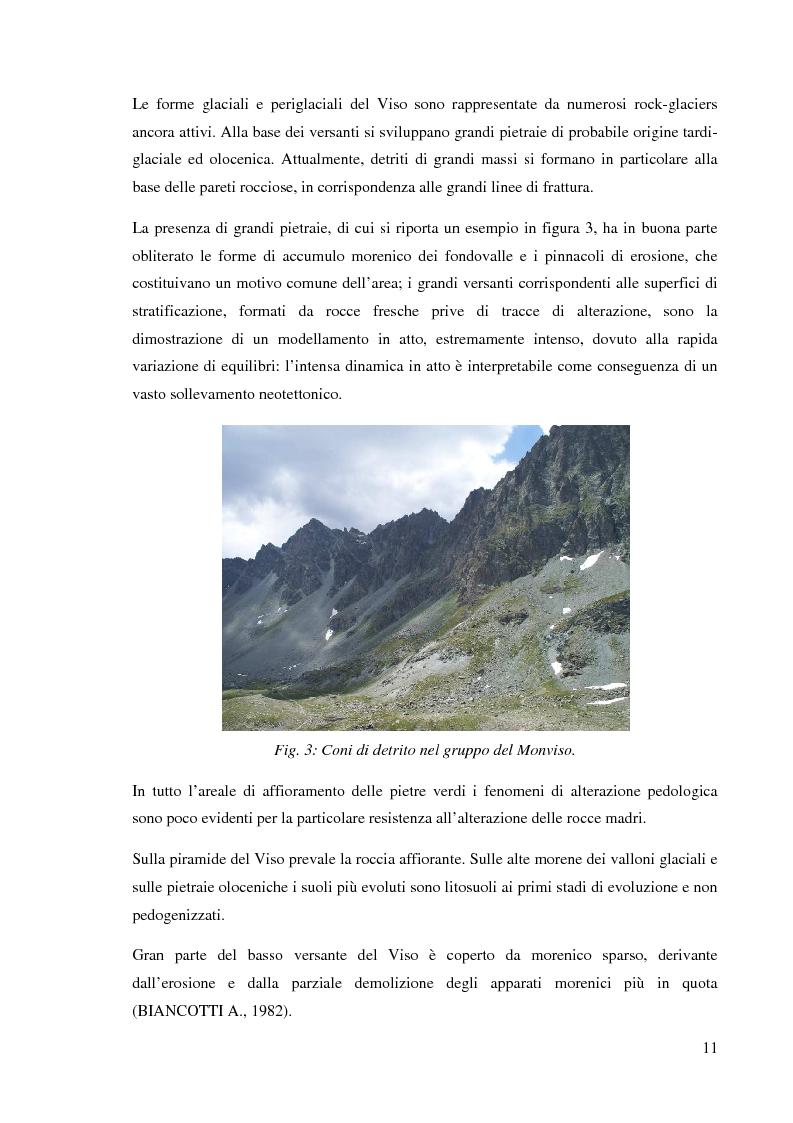 Anteprima della tesi: Caratterizzazione climatica e analisi del fenomeno valanghivo in Alta Valle Po attraverso la realizzazione della Carta di Localizzazione Probabile delle Valanghe, Pagina 12