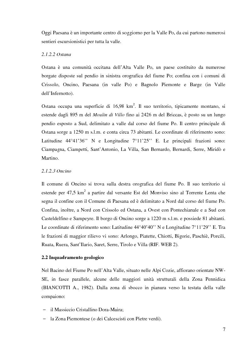 Anteprima della tesi: Caratterizzazione climatica e analisi del fenomeno valanghivo in Alta Valle Po attraverso la realizzazione della Carta di Localizzazione Probabile delle Valanghe, Pagina 8