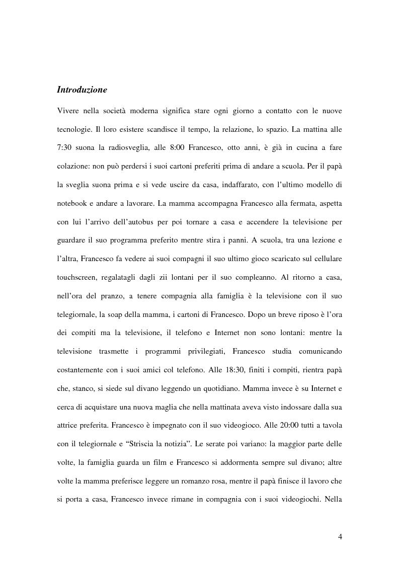 Anteprima della tesi: I passi della Media Education nella scuola primaria, Pagina 2