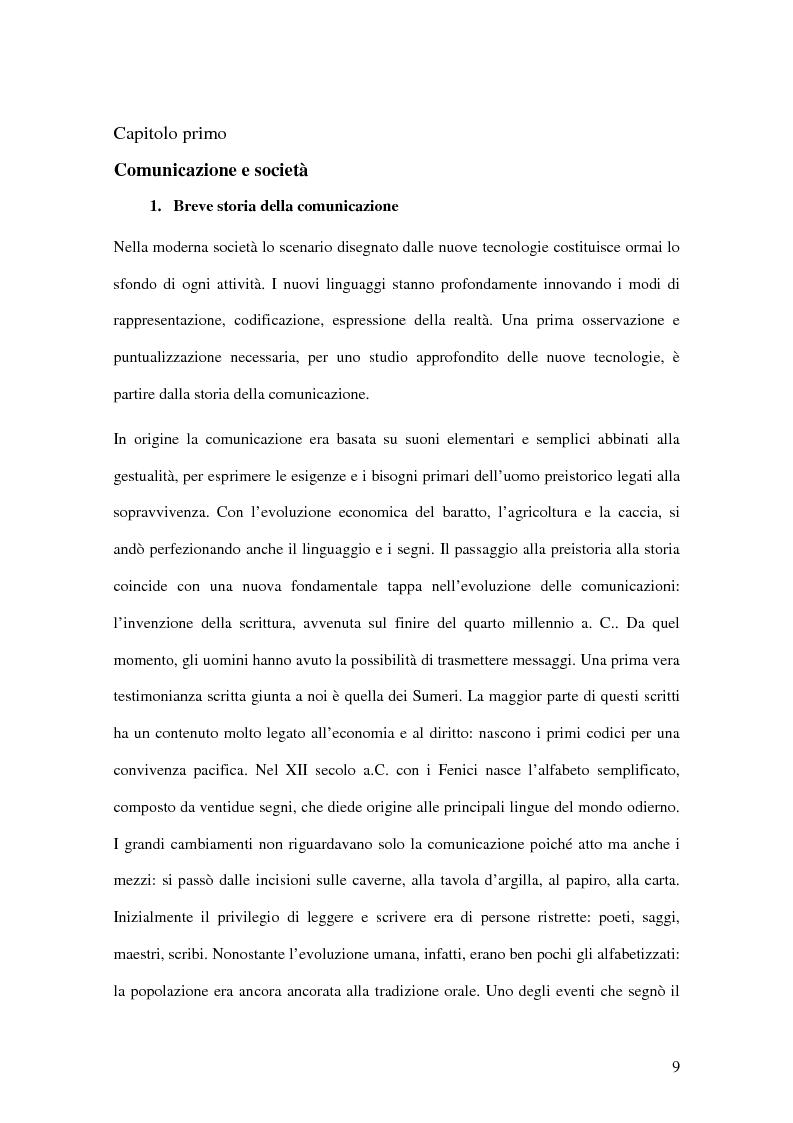 Anteprima della tesi: I passi della Media Education nella scuola primaria, Pagina 7