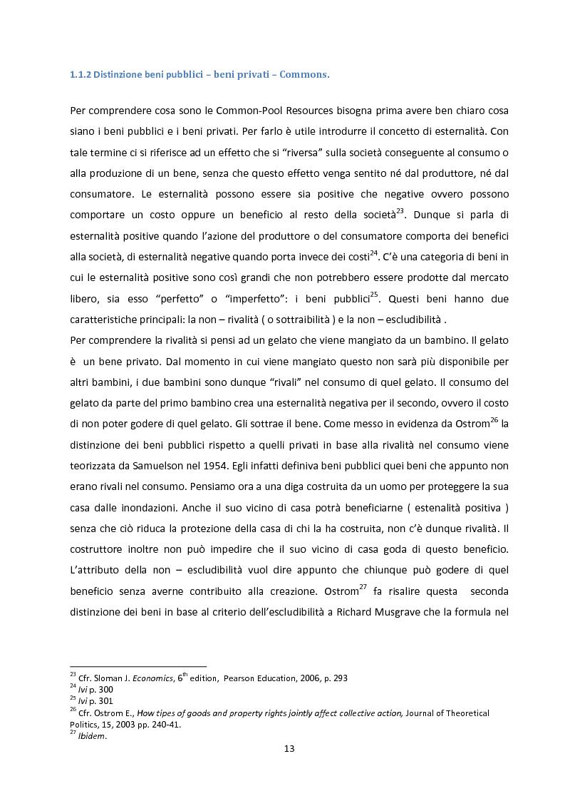 Anteprima della tesi: Oltre la Tragedia dei Beni Comuni: La gestione delle Common-Pool Resources e il Bosco delle Sorti della Partecipanza di Trino, Pagina 10