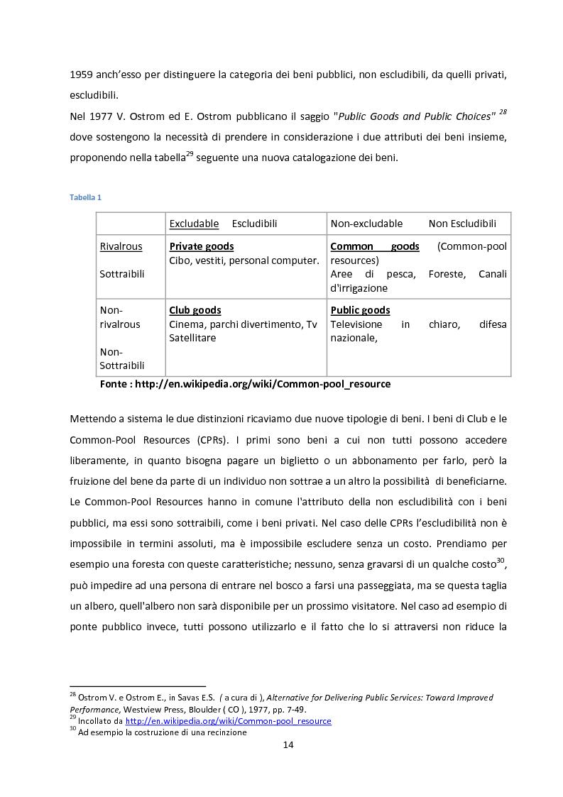 Anteprima della tesi: Oltre la Tragedia dei Beni Comuni: La gestione delle Common-Pool Resources e il Bosco delle Sorti della Partecipanza di Trino, Pagina 11