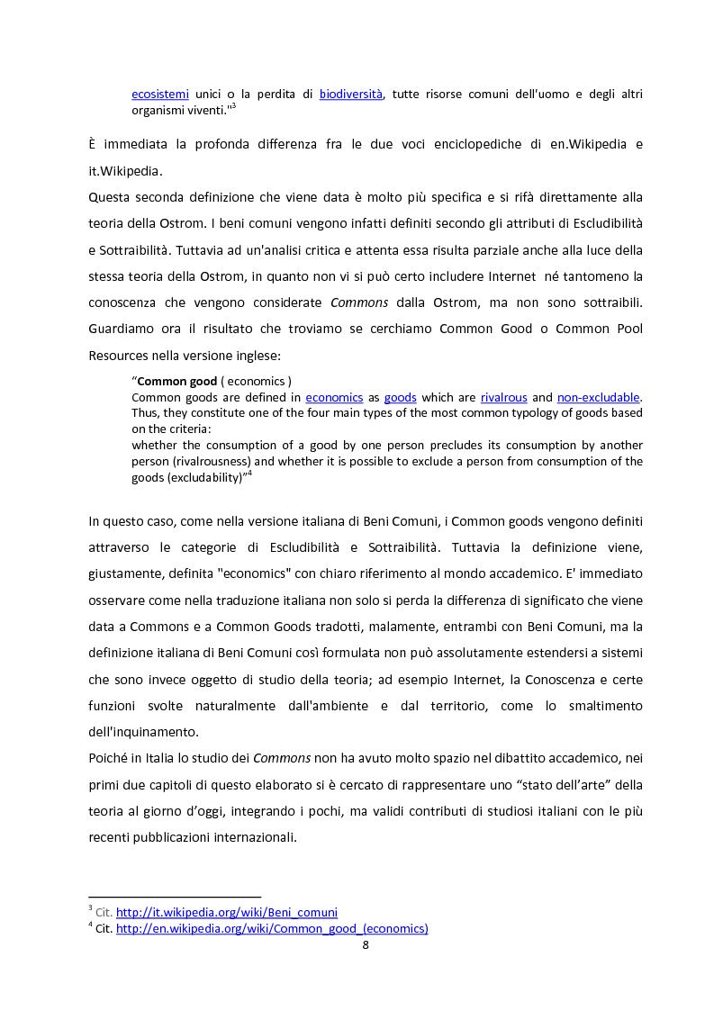 Anteprima della tesi: Oltre la Tragedia dei Beni Comuni: La gestione delle Common-Pool Resources e il Bosco delle Sorti della Partecipanza di Trino, Pagina 5